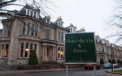 Hotel Du Vin & Bistro, 1 Devonshire Gardens wedding reception review.