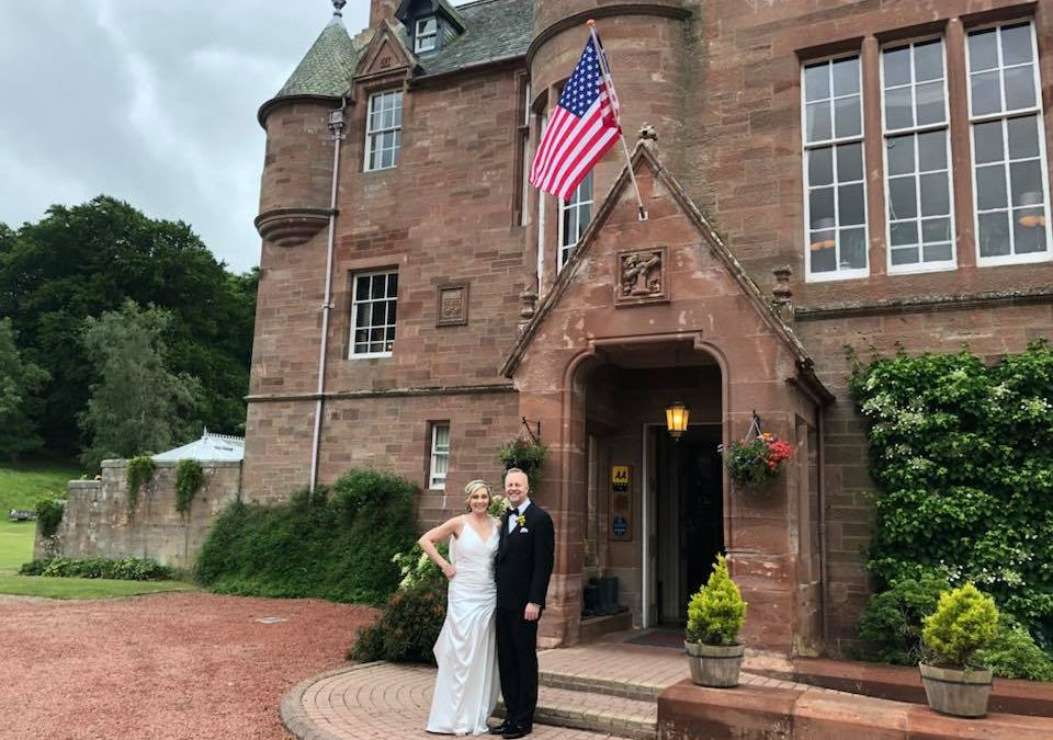 Scottish Weddings with guests from the USA