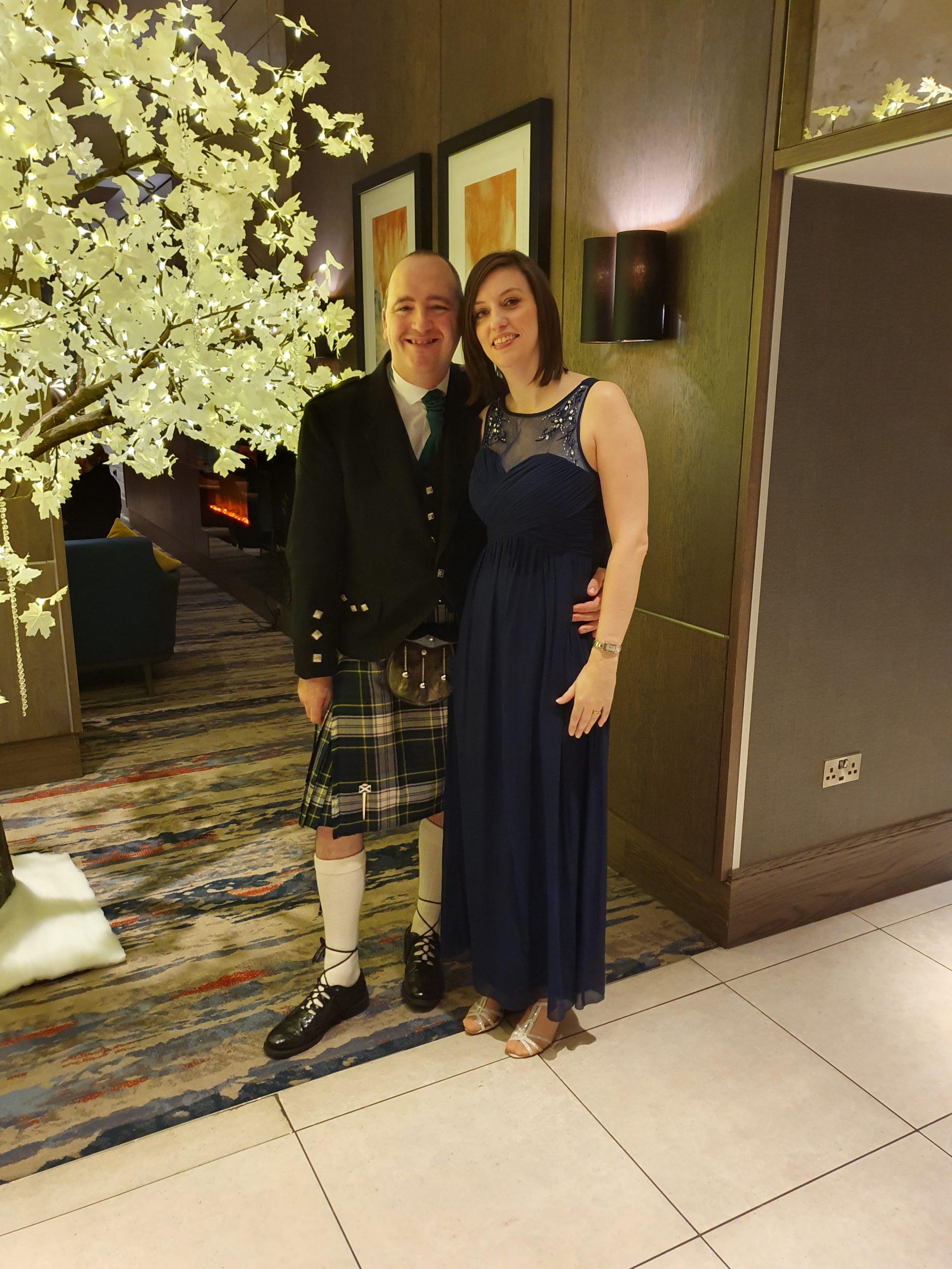 Scottish VOWS Award Winners, Gordy Is A DJ, Gordy and Emma.
